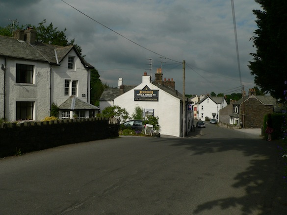 Rose Cottage beside the Horse & Farrier pub                     in Threlkeld
